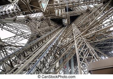 Paris,  eiffel, torre, França