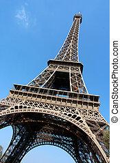 Paris, eiffel tower