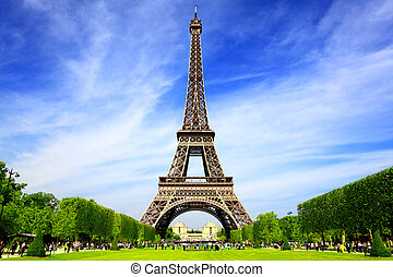 paris, europa, bedst, destinationer