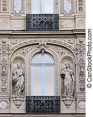 Paris facade detail