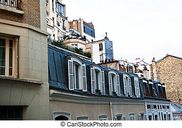 paris, france. montmartre