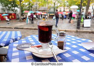 Paris - Open Air Artist Market at Tertre Square (Place du...