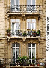 paris, janelas