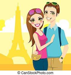 paris, lua mel, viagem