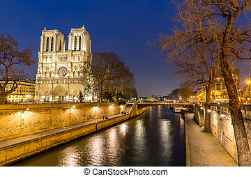 Paris Notre Dame - Cathedral Notre Dame Reims Champagne at...