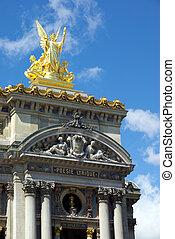 Paris Opera facade
