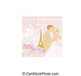 paris, par, casório