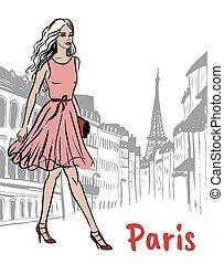 paris, rua