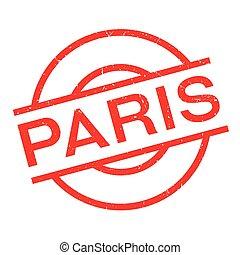 Paris rubber stamp