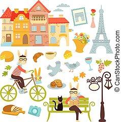 paris, símbolos
