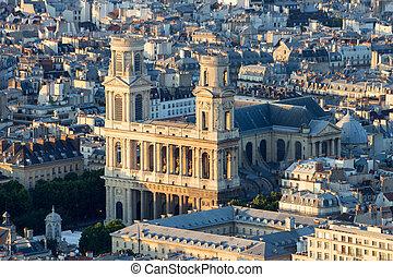 paris, saint-sulpice, église
