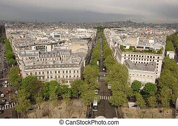 paris, straßen
