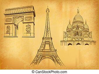 paris, symboler
