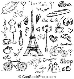 Paris symbols.