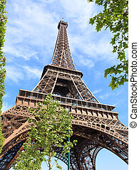 paris, tour, eiffel