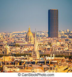 paris, tour, invalides, montparnasse
