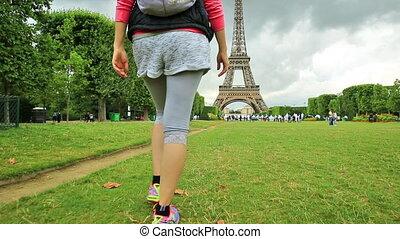 Paris travel concept