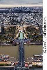 Paris - Trocadero and Palais de Chaillot
