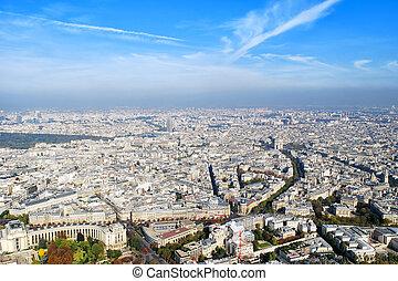 paris, vue panoramique