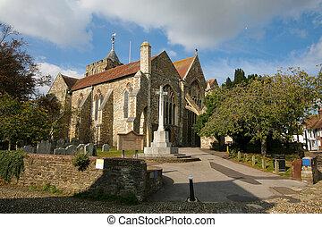Parish Church of Saint Mary the Virgin in Rye