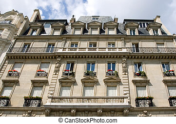 Parisian Apartment Building