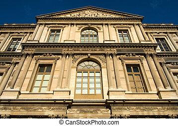 Parisian Architecture - An inner-city building, Paris,...