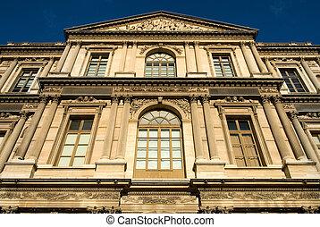 Parisian Architecture - An inner-city building, Paris,...