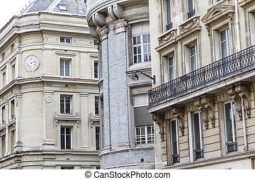Parisian architecture, France