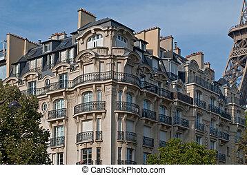 Parisian house.