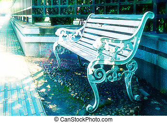 park 긴 의자