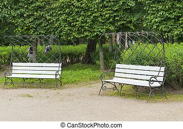 park., 2, ベンチ