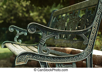 Park Bench - Photo of a park Bench