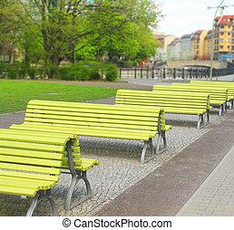 park benchs