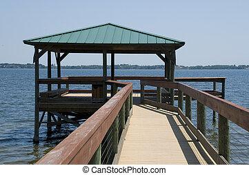 Park Boardwalk in Florida