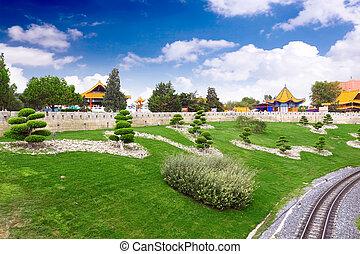 park., chino, vista