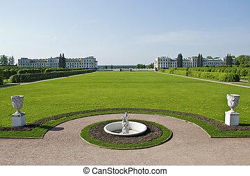 park estate the Arkhangelsk