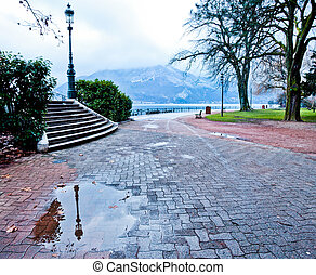 Park in Annecy, France