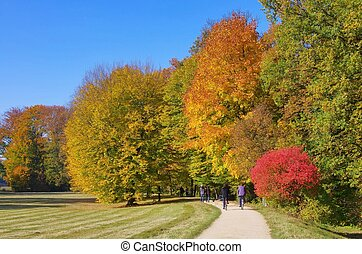 park in fall 02
