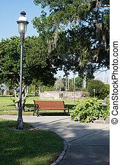 Park in New Symrna, Florida
