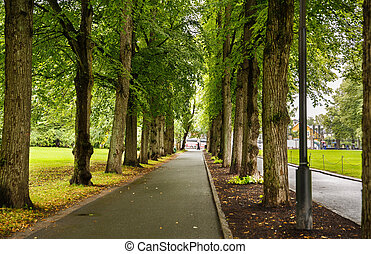 Park in Oslo city