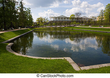 park in Pavlovsk