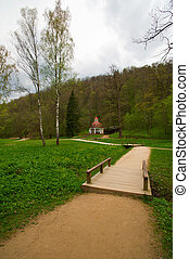 Park in the town of Sigulda