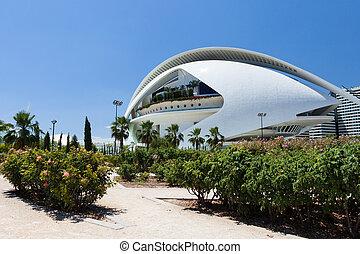 Park in Valencia, Spain