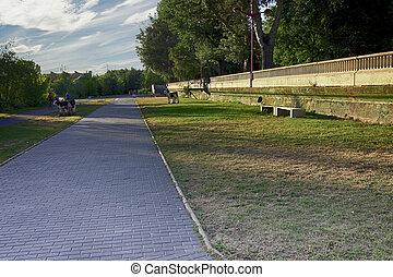 park jogging track