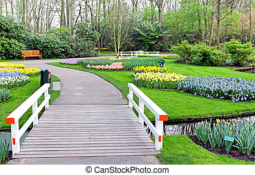 Park Keukenhof, Netherlands