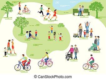 Park-Leute