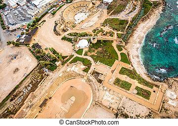 park, national, cesarea, israel