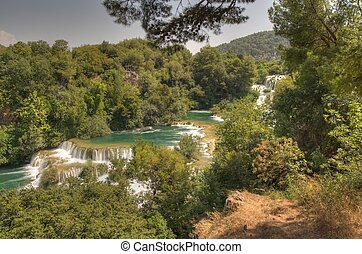 park, national, krka, kroatien