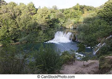 park, national, krka, kroatien