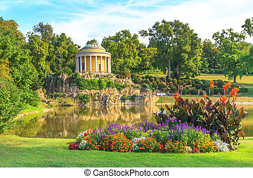 Park of Esterhazy Palace, Leopoldina Temple, Eisenstadt, Austria